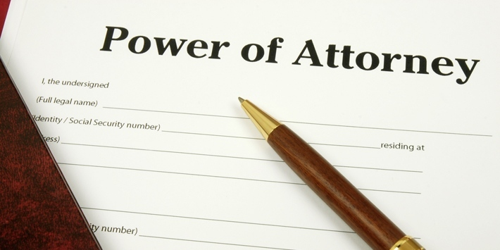 Nursing home power of attorney
